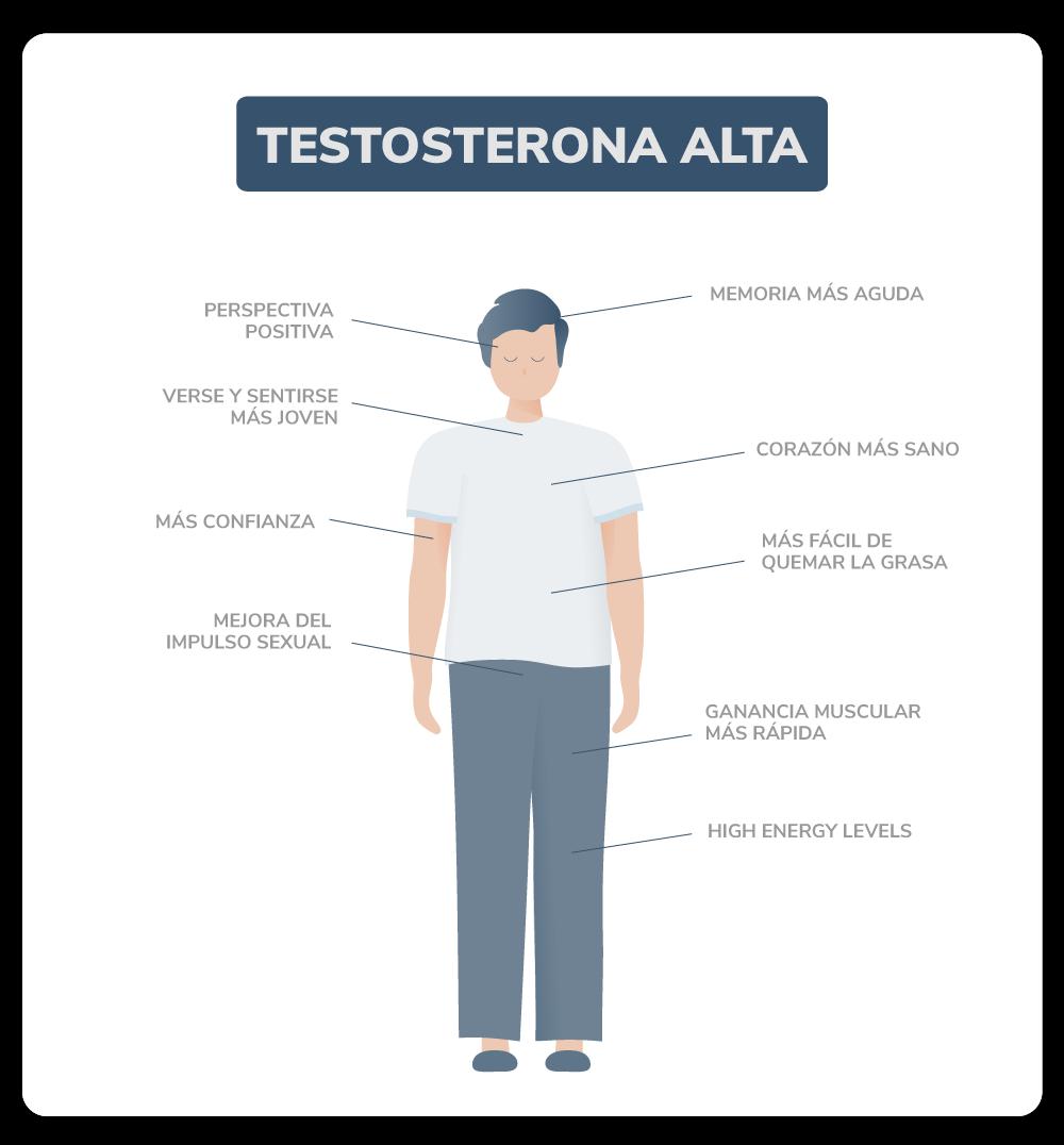 Muestras de testosterona alta
