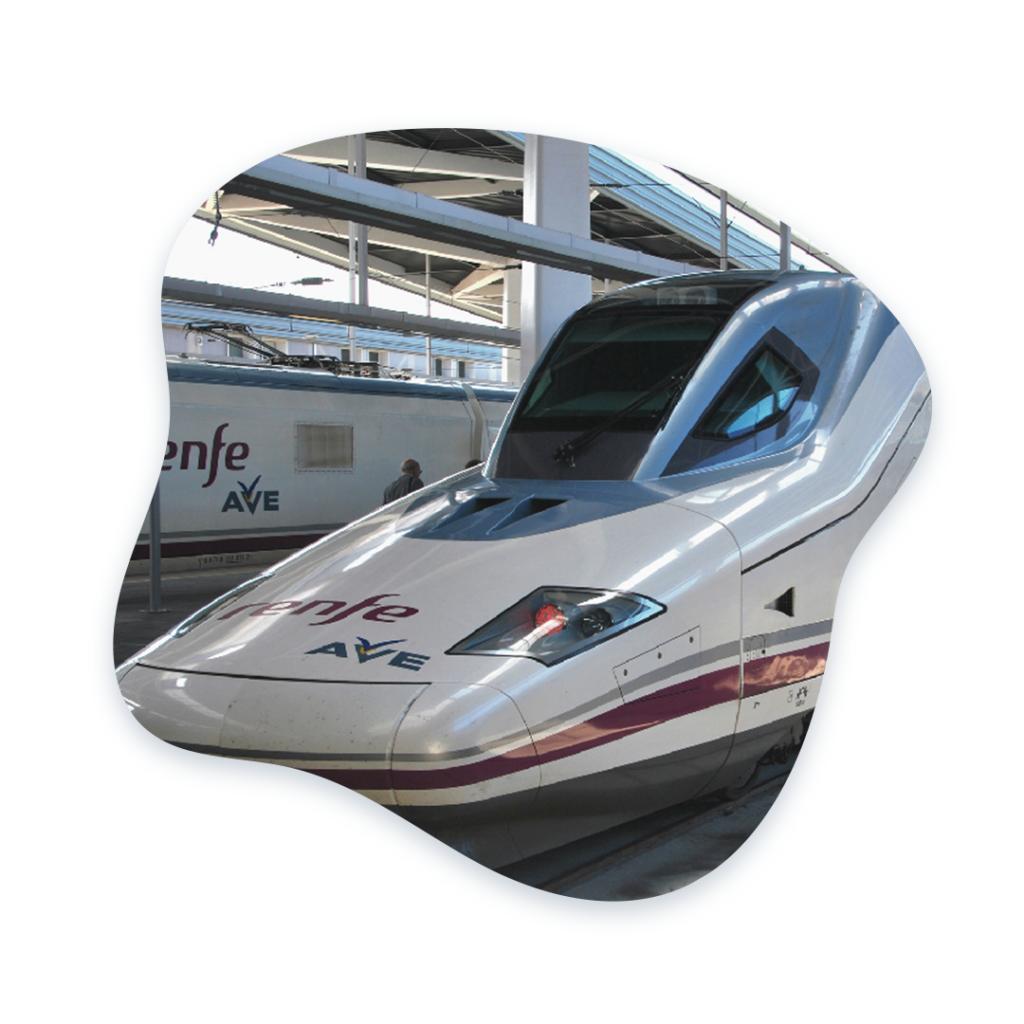 Andromedi Paciente No Residente Tren alta velocidad